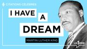 """Les grands discours: """"I have a dream"""" - Martin Luther King"""