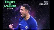 Eden Hazard dans l'équipe UEFA de l'année