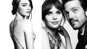 Très belles photos des stars aux Golden Globes