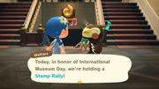 """La Journée internationale des musées dure deux semaines sur """"Animal Crossing"""""""