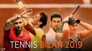 Deux rois, quatre reines, des matches épiques et de belles promesses: 2019, une année tennis exquise