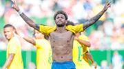 Le Brésil termine sa préparation en battant l'Autriche 3-0, Neymar buteur