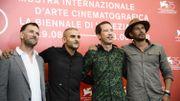 """Le casting de """"Frères ennemis"""" : le réalisateur David Oelhoffen, Sofiane Zermani, Reda Kateb et Matthias Schoenaerts"""