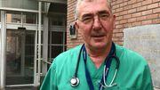 Benoît Claessens, chef de clinique aux Urgences du CHU Saint-Pierre.