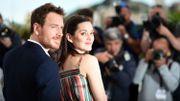 """Michael Fassbender et Marion Cotillard, à Cannes, pour """"Macbeth"""""""