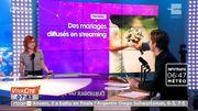 Des mariages diffusés en streaming sur Internet