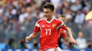Aleksandr Golovin, révélation russe du Mondial, rejoint l'AS Monaco