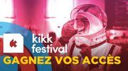 Kikk Festival à Namur: gagnez votre pack spécial avec nuit d'hôtel