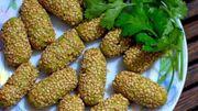 Recette de Candice: Croquette de brocolis en croûte de sésame