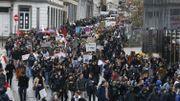 Plus de 12.500 élèves ont marché dans les rues de Bruxelles pour le climat