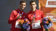 Kevin et Jonathan Borlée présents sur les pistes au moins jusqu'en 2022