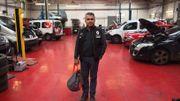 Bahsid Rastegar est patron d'un garage-concession rue Saint-Guidon à Anderlecht.