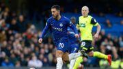 Chelsea se ressaisit grâce aux doublés de Hazard et Higuain