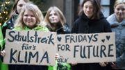 """Manifestation de jeunes """"grévistes"""" du climat à Cologne, en Allemagne, vendredi dernier"""