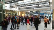 Gare de Namur vers 7h00