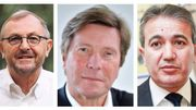 Pierre Muylle (Evere, PS), Georges Verzin (Schaerbeek, MR), Emir Kir (Saint-Josse, PS)