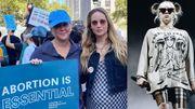 """""""Mon corps, mon putain de choix"""" : Billie Eilish (au Texas), Amy Schumer et Jennifer Lawrence pour le droit à l'avortement"""