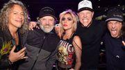 Lady Gaga et Metallica avec du son