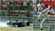 Italie 1999 : L'énorme boulette de Mika Hakkinen, qui explose de rage