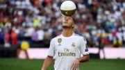 Eden Hazard pour la 1ère fois en action sur la pelouse du Santiago Bernabeu