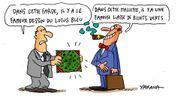 """Un dessin du """"Lotus Bleu"""" de Hergé aux enchères début octobre à Hong Kong"""