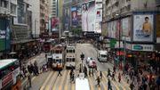 Vues du district de Causeway, à Hong Kong