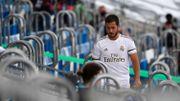Eden Hazard, toujours gêné à la cheville, manquera le déplacement à Bilbao