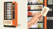 Un distributeur automatique pour venir en aide aux sans-abri