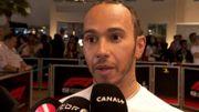 """Hamilton : """"Je ne me suis jamais senti aussi fort """""""