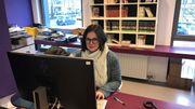 Aurélie Ballesteros travaille dans le rayon jeunesse à la Bibliothèque Sésame