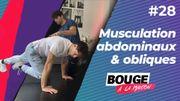 Bouge à la maison: musculation des abdominaux et des obliques