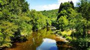 L'Ourthe - rivière en Belgique
