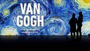 Van Gogh en immersion à la Bourse de Bruxelles