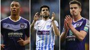 """Tielemans, Pozuelo et Dendoncker nommés pour le """"Footballeur Pro de l'année"""""""