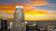Los Angeles : un toboggan de verre vertigineux inauguré en haut d'un gratte-ciel