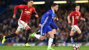 Chelsea avec un Courtois décisif élimine le ManU de Fellaini en FA Cup