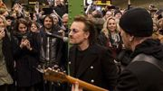 Zapping 21 : U2 donne un concert surprise dans le metro de Berlin