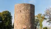 La Tour de 1350 est le seul vestige médiéval de Saint-Vith