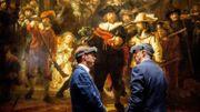 """La restauration de """"La Ronde de nuit"""" de Rembrandt a commencé"""