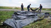 Les corps des victimes ont été déplacés par camions