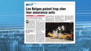 Les Belges paient trop cher leur assurance voiture