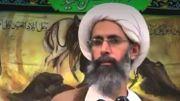 Le cheikh, ayatollah chiite et dissident politique saoudien, Nimr al-Nimr, exécuté par l'Arabie.
