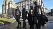 Une statue des Beatles inaugurée à Liverpool