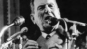 Juan Perón, président de l'Argentine entre 1946 et 1955.