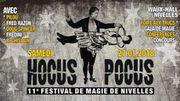 Hocus Pocus, le festival de magie à Nivelles ce 27 janvier