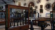 """Salle technique, une des deux salles """"historiques""""."""
