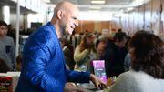 """Harlan Coben en France pour présenter son dernier livre, """"Double piège"""""""