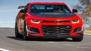 La Chevrolet Camaro ZL1 1LE est officiellement la plus rapide de tous les temps