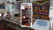 Plus besoin de se rendre à Chester dans le Connecticut pour découvrir le studio d'artiste de Sol LeWitt grâce à une nouvelle application de Microsoft.