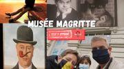 Le Musée Magritte de Bruxelles testé par la Famille Bonvoyage !